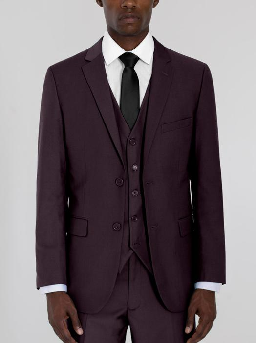 WINE THREE PIECE TR SUIT