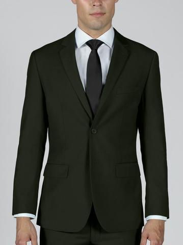 OLIVE TWO BUTTON SUIT