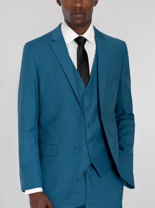 PEACOCK GREEN THREE PIECE TR SUIT