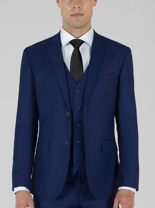 BIRDSEYE BLUE THREE PIECE TR SUIT