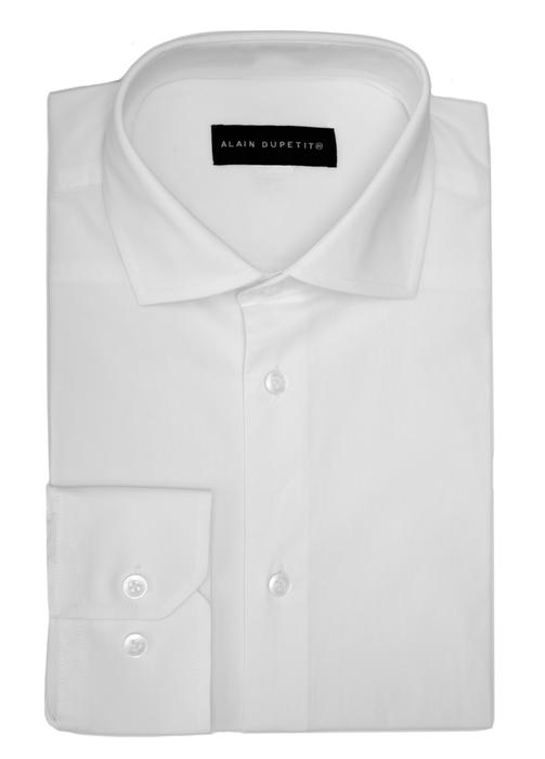 DRESS SHIRT IN WHITE - all cotton