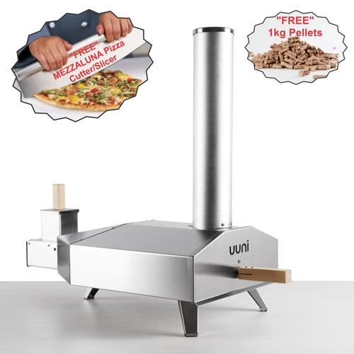 UUNI 3 | Portable WoodFired Pizza Oven - FREE FREIGHT Australia wide + Free 1kg Pellets & Pizza Slicer