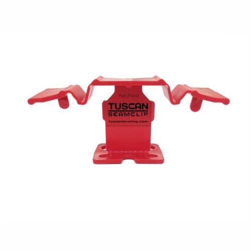 Tuscan SeamClip Seam Clip - Red - 9.5mm - 13mm Thick Tiles