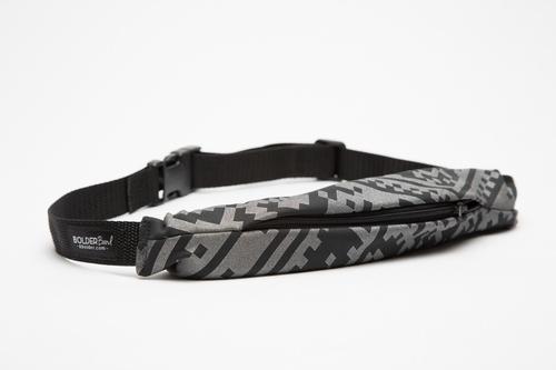 Black Reflective Bolder Belt