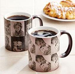 Multi Photo Color Changing Mug