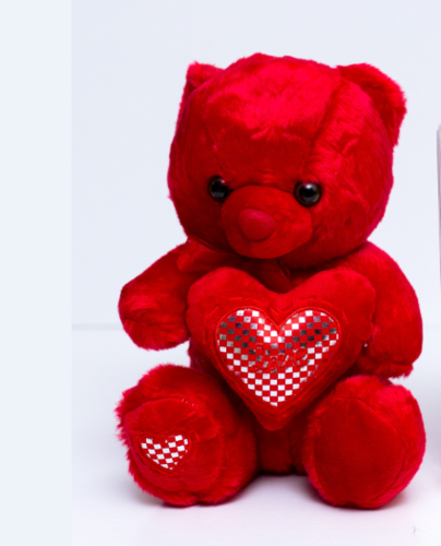 Red Hunka Bear (Medium)
