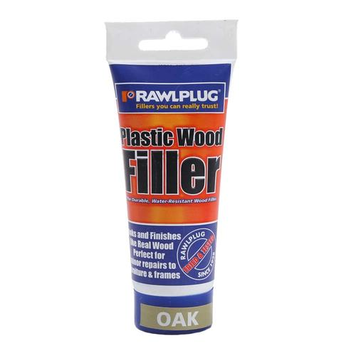 RawlPlug Plastic Wood Filler Oak 50ml