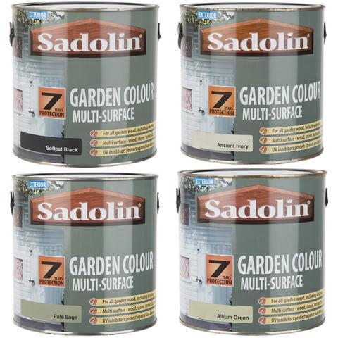 Sadolin Exterior Garden Colour Multi-Surface Woodstain 2.5L