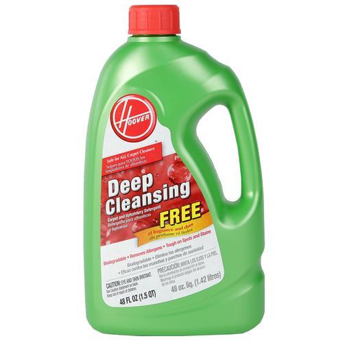 Hoover Biodegradable Deep Cleansing Carpet & Upholstery Detergent-1.4L