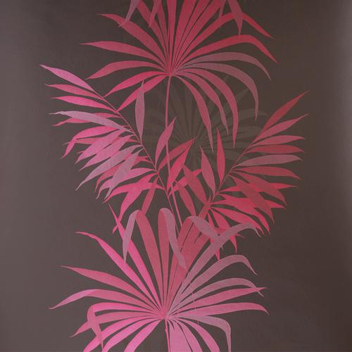 Harlequin Wallpaper Floral Pink & Brown