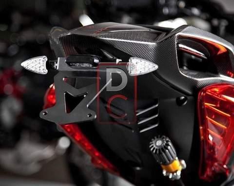 MV Agusta Rivale 800 Tail Tidy Kit Fender Eliminator Kit Motocorse