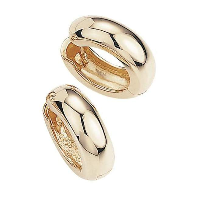 Rose Gold Plated Sterling Silver Earrings - 06/03703-R