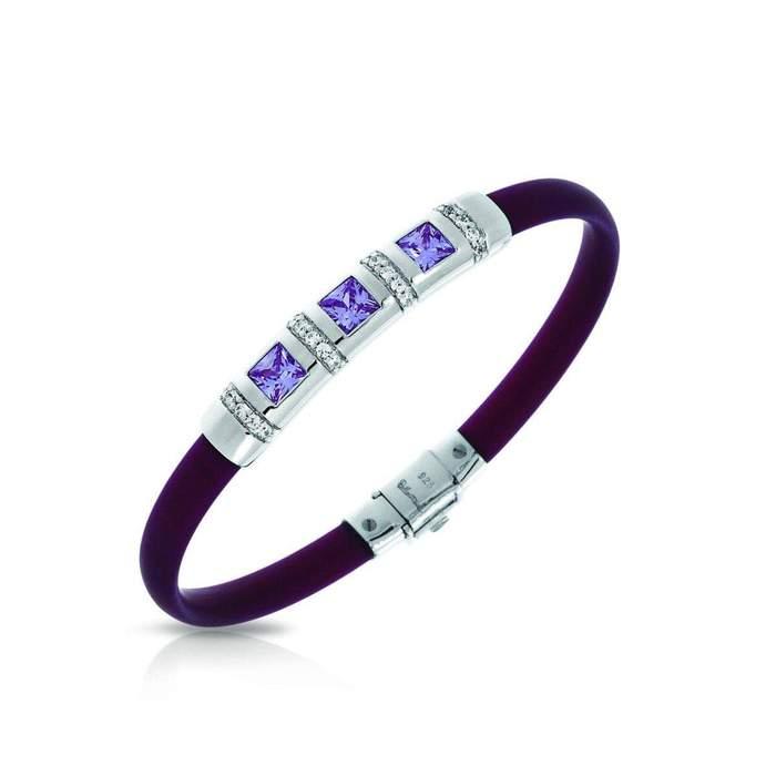 Celine Plum and Lavender Bracelet