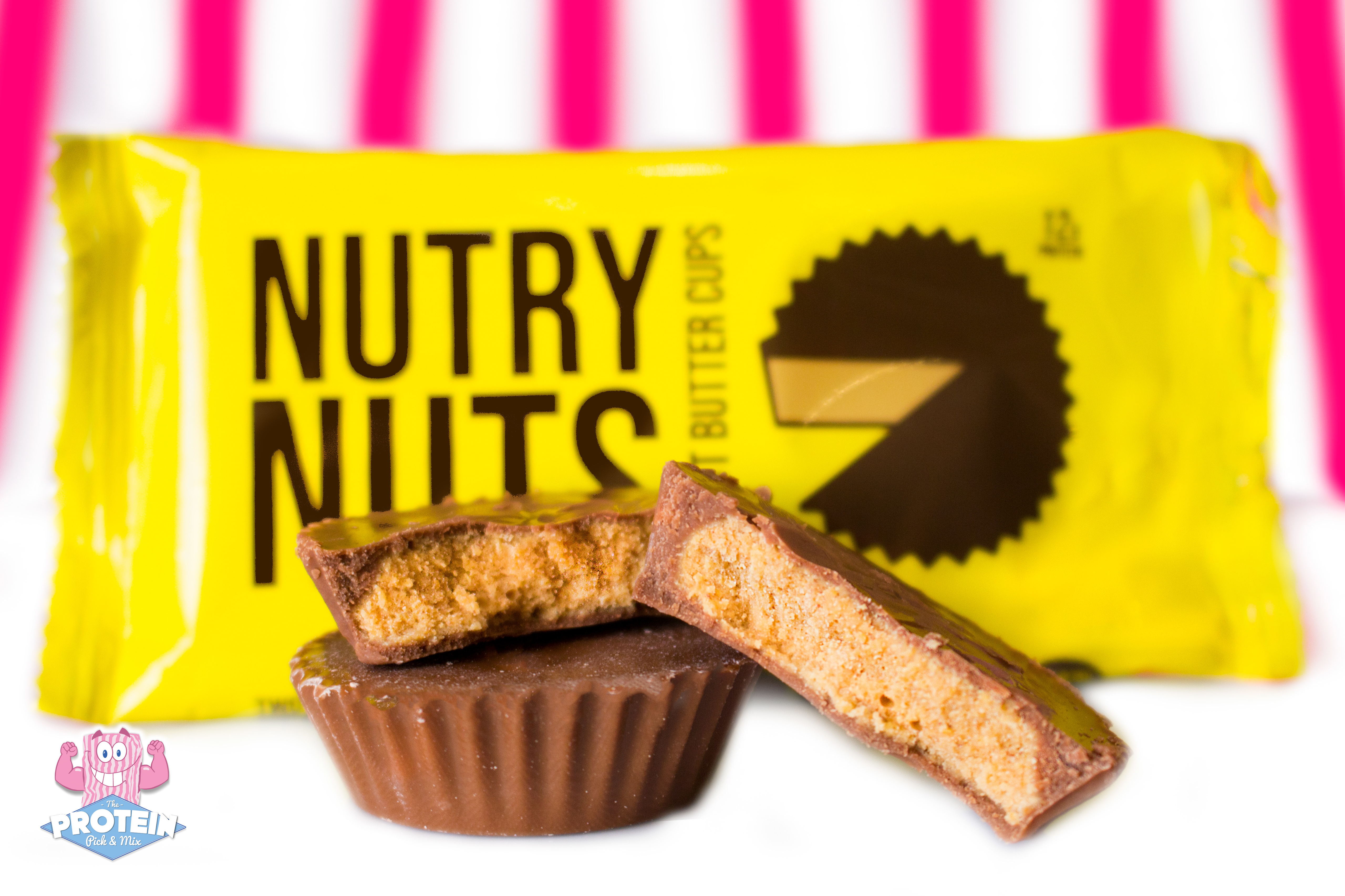Nutry Nuts Protein Peanut Butter Cups 42g The Protein Pick And Mix