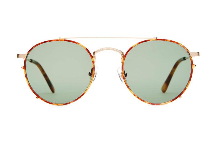 d091a915d35 The Tuff Safari - Brushed Gold   Havana Tortoise -   Vintage Green -  Sunglasses