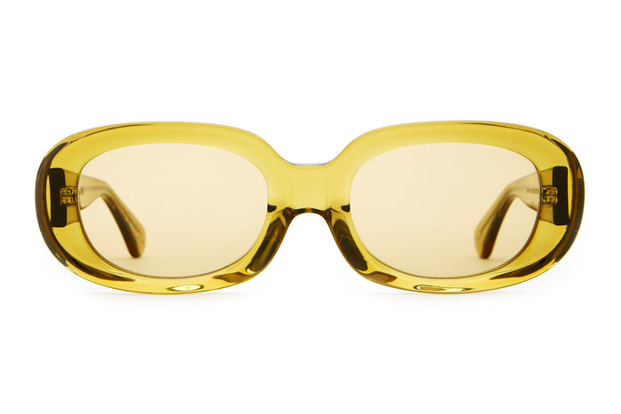 ee66bbc5040 The Bikini Vision - Crystal Kelp -   Mustard - Sunglasses