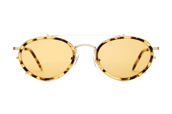 a6b5a407b98 The Riddim Safari - Brushed Gold   Tokyo Tortoise -   Mustard - Sunglasses
