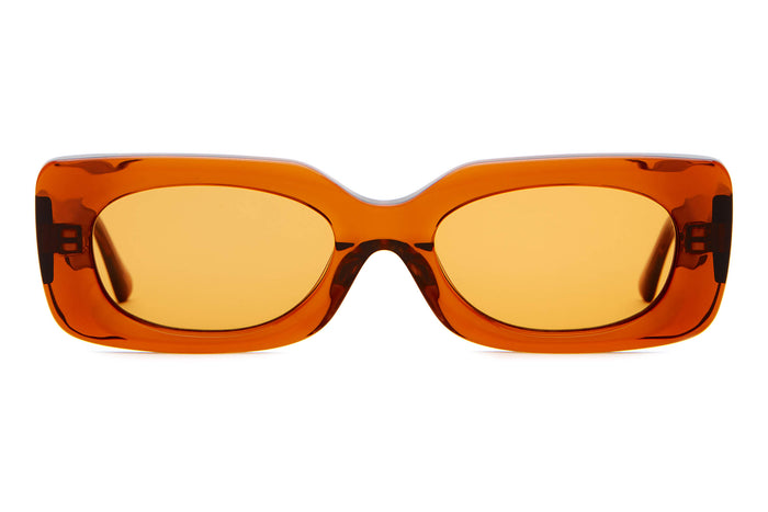 9bd2ed2c16 The Supa Phreek - Crystal Bourbon -   Burnt Orange - Sunglasses
