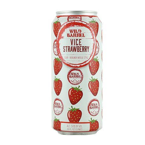 Wild Barrel San Diego Vice with Strawberry