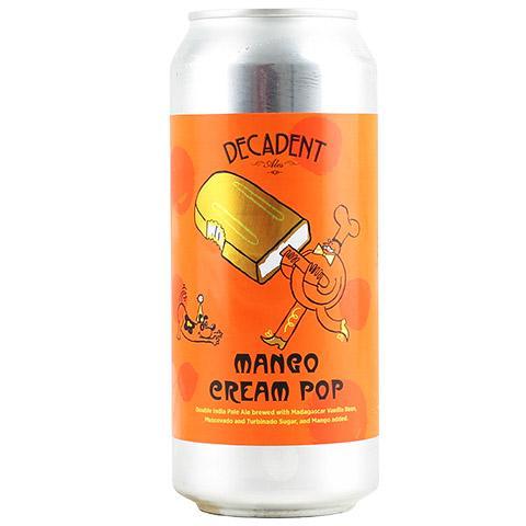 Decadent Mango Cream Pop