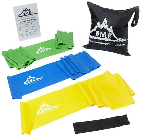 Set of 3 Therapy Bands Plus Guide and Bag
