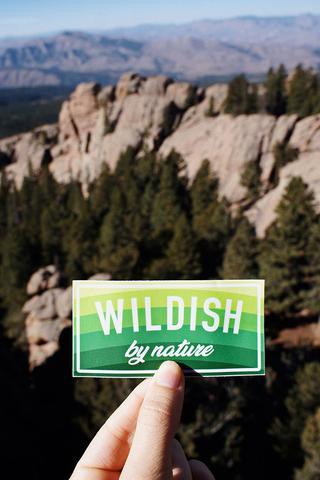 5b88254819161 Wildish by Nature Sticker