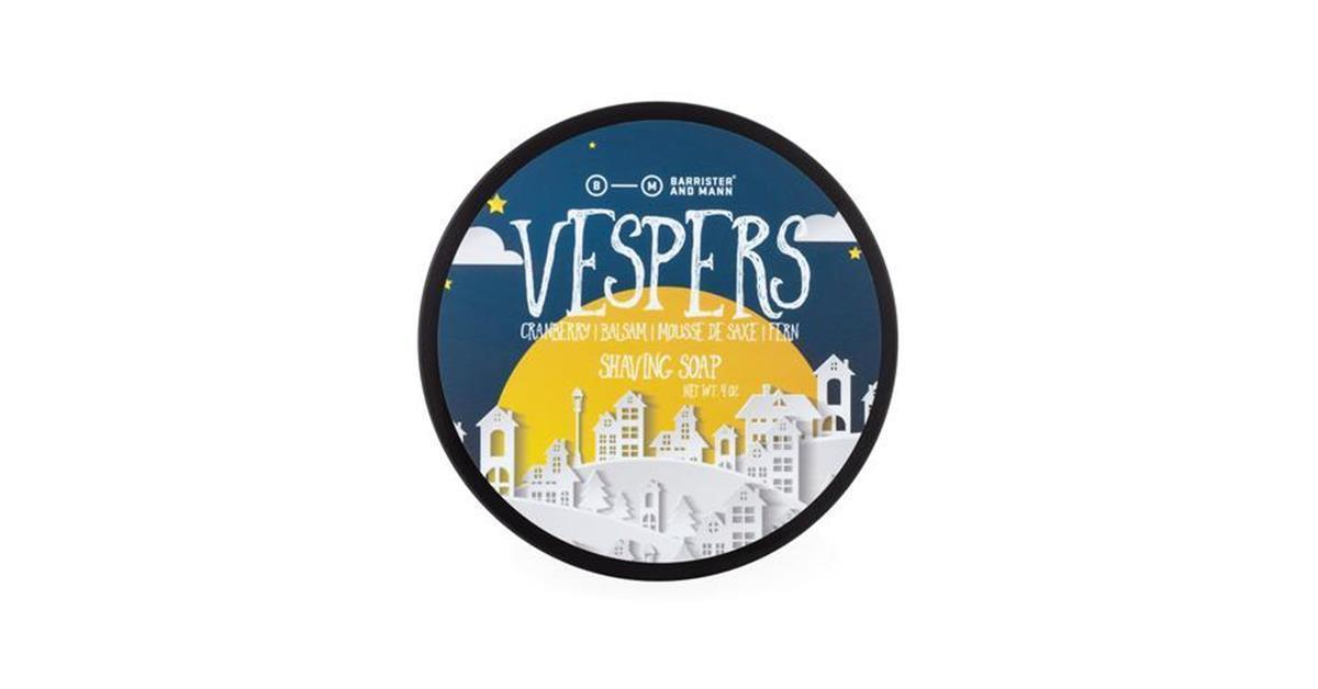 Vespers Shaving Soap (Seasonal)