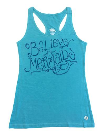 Believe in Mermaids Racer