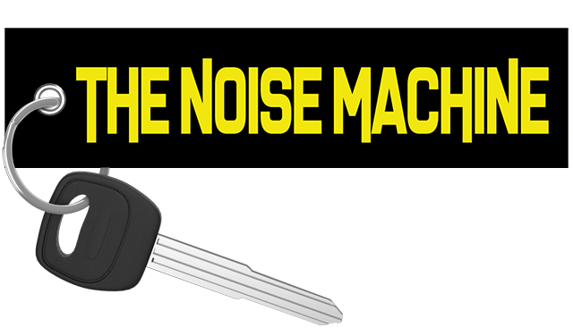 The Noise Machine - Motorcycle Keychain
