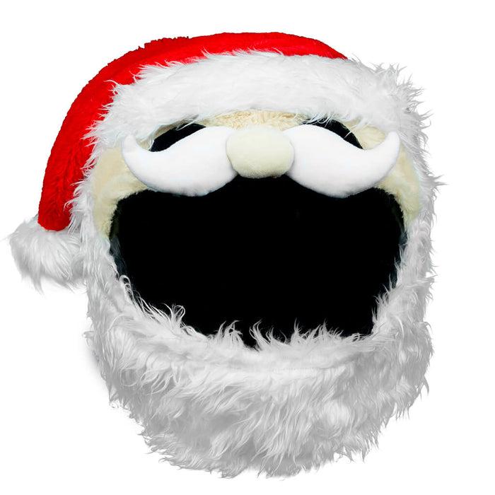 Motorcycle Helmet Cover - Santa