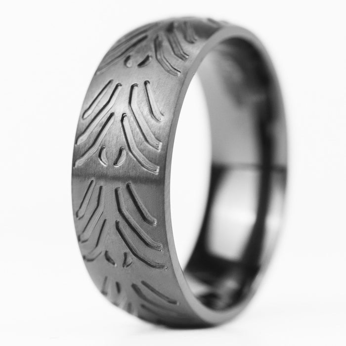 Motorcycle Tire Ring - Tread 4
