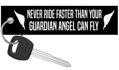 Guardian Angel - Motorcycle Keychain