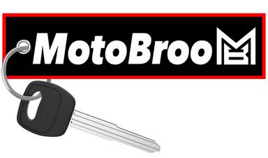 Moto Broo - Motorcycle Keychain