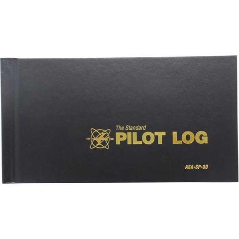 ASA Pilot Logbook Black