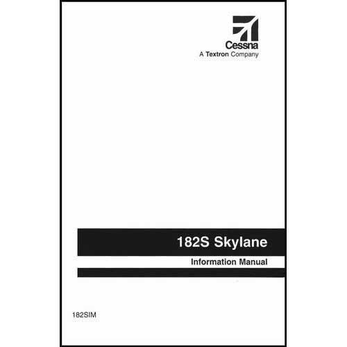 Cessna 182S 1997 & On Pilot's Information Manual (part# 182SIM)