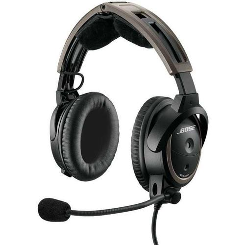 Bose A20 Aviation Headset with Bluetooth (Battery Powered Twin Plugs)