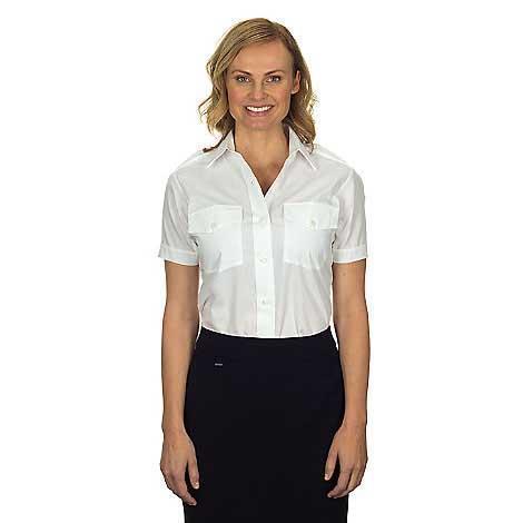Van Heusen Ladies' Aviator Shirt - Short Sleeve