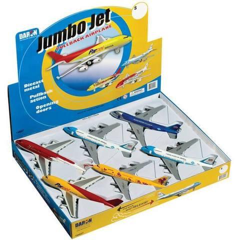 Jumbo Jet Pullback Toy (1 Piece / Assorted Styles)