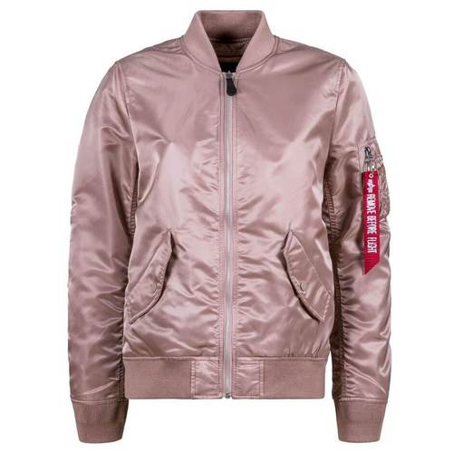Alpha Mauve L-2B Laced Flight Jacket Women's