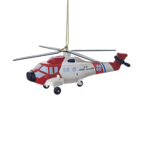 U.S. Coast Guard Helicopter Ornament