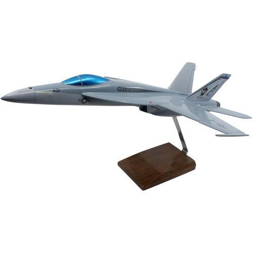 McDonnell Douglas F/A-18E Super Hornet Large Mahogany Model