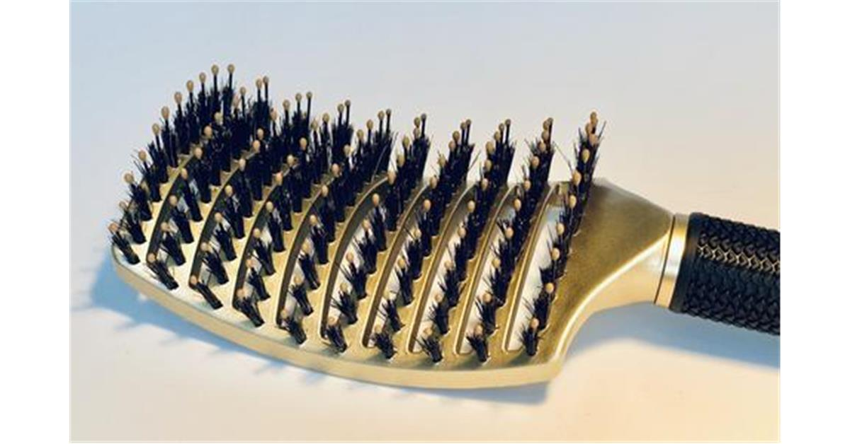 Happy Hair Brush - Gold