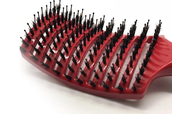 Happy Hair Brush Red