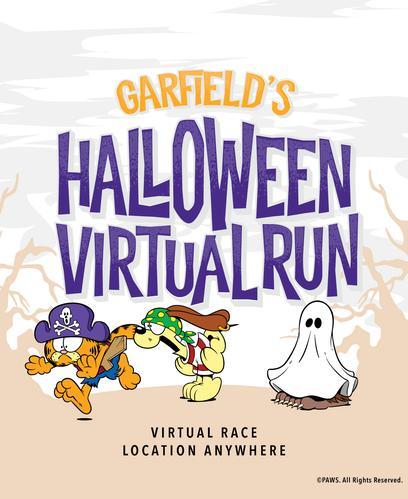 Garfield's Halloween Virtual Run