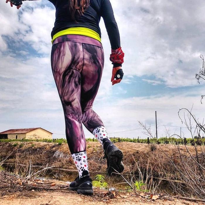 0489408e512 Paw Prints Socks (Mini-Crew)