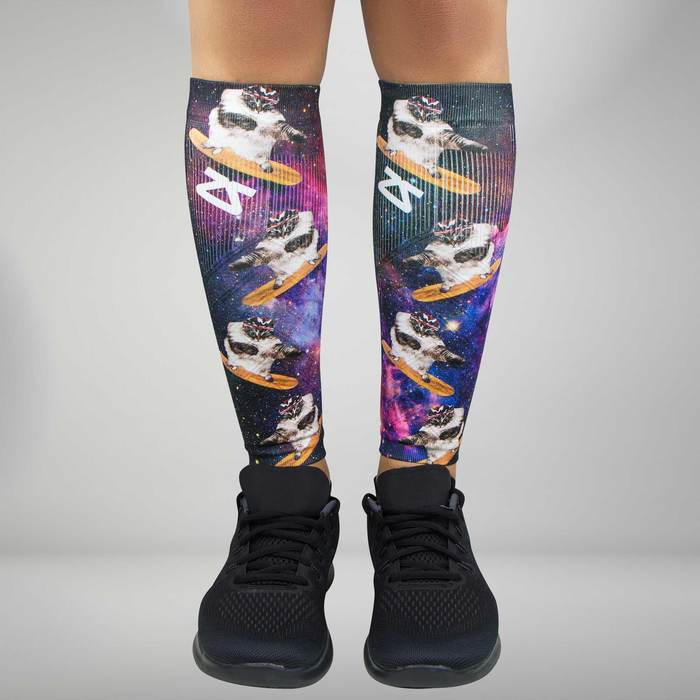 c0f25667cd Space Cats Compression Leg Sleeves