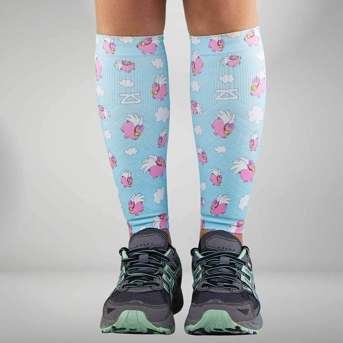 79da833d1 Flying Pigs Compression Leg Sleeves