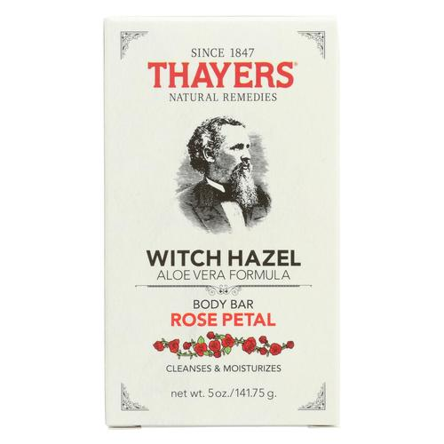 Thayers Body Bar - Witch Hazel And Rose Petal - 5 Oz