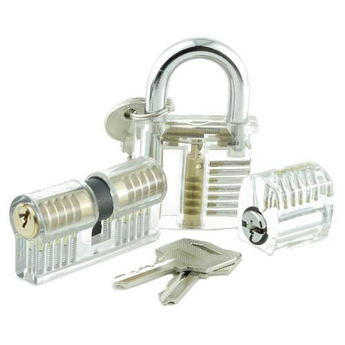 Dangerfield Training Practice Locks for Lock Pickers - Set of Three