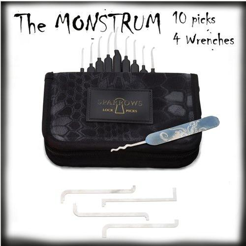 Sparrows Monstrum Lock Pick Set